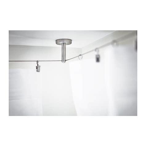 duschvorhang seilsystem duschvorhang an der decke befestigen duschvorhang