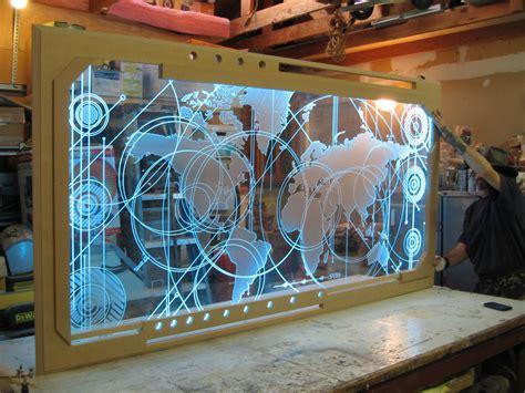 plexiglass craft projects david illuminates family lithophane with led light