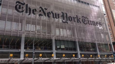sede new york times el new york times en guerra contra donald