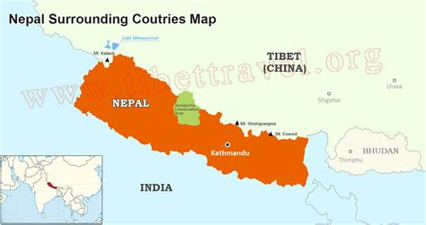 where is nepal on the map where is nepal located on map nepal map in asia and world