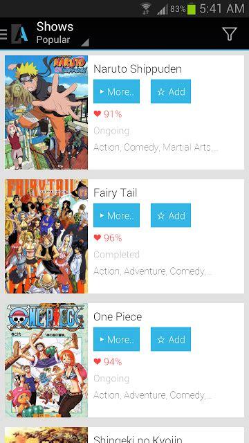 apps anime dan terbaik di android