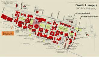 Nc State Campus Map by North Carolina State University Campus Map
