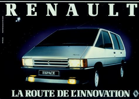1984 renault espace 30 years ago renault introduces the espace ran when parked