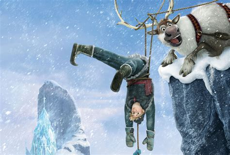 wallpaper frozen sven kristoff frozen 4k ultra hd wallpaper and background