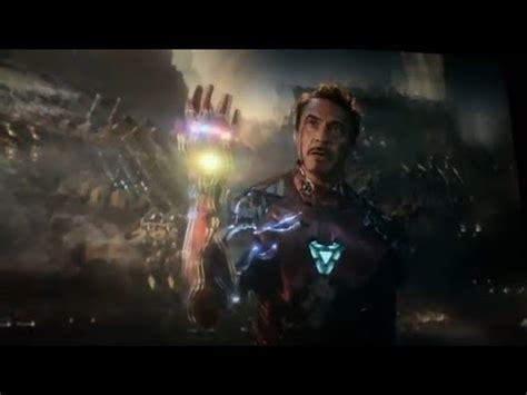 iam iron man scene audience reaction avengers endgame