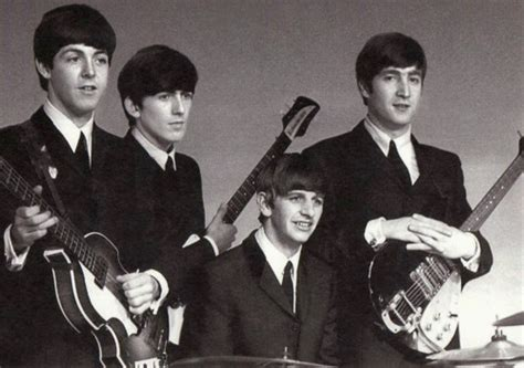 The Beatles Black 1 the beatles black and white quotes quotesgram
