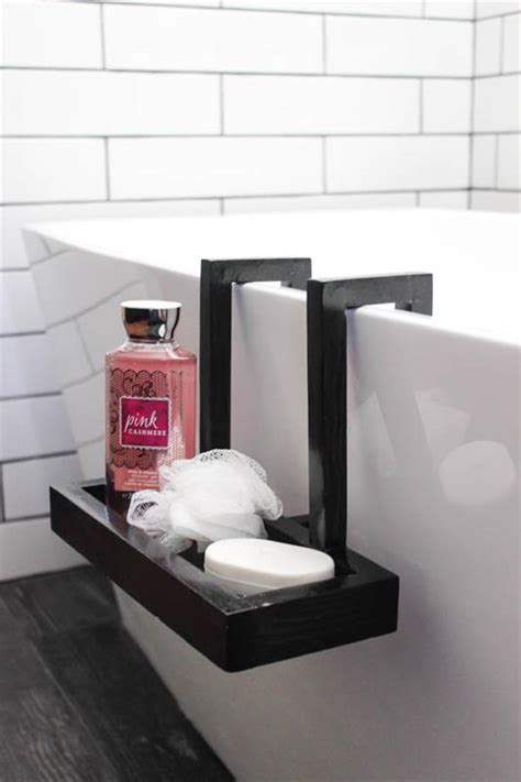 bathtub caddy modern modern bath caddy buildsomething com