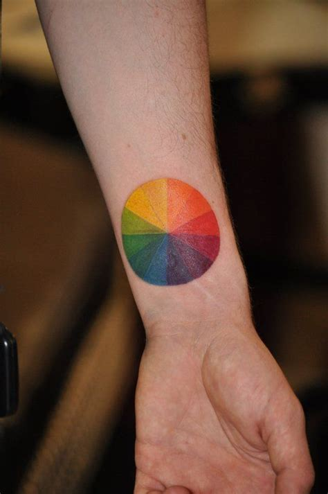 color wheel tattoo 25 best ideas about color wheel on