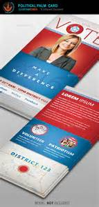 palm card templates vote political palm card template by seraphimchris