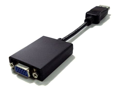 Dell Display Port To Vga Adapter dell displayport to vga adapter cable ebay