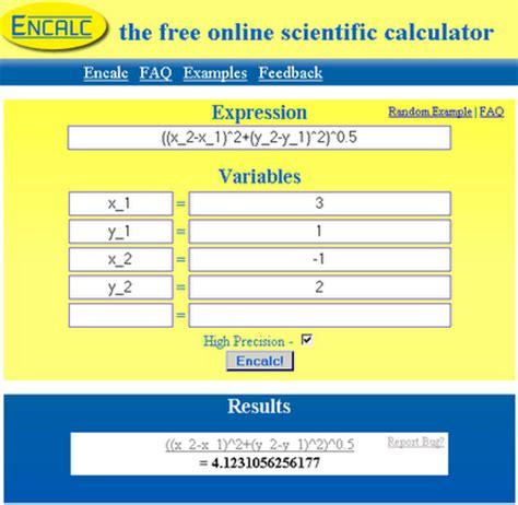 free online calculator the free online scientific calculator encalc veerublog