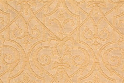 Matelasse Upholstery Fabric by Manilow Matelasse Upholstery Fabric In Gold