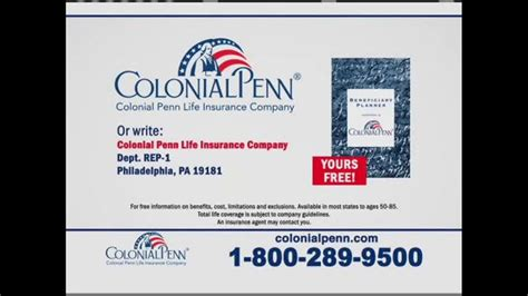 colonial penn guaranteed acceptance tv commercial hard