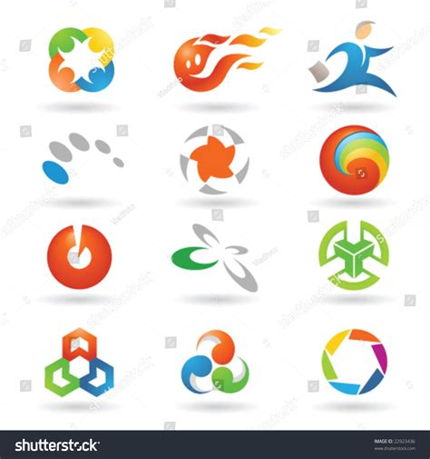 game design elements in vector from stock 2 set vector design elements 2 stock vector 22923436