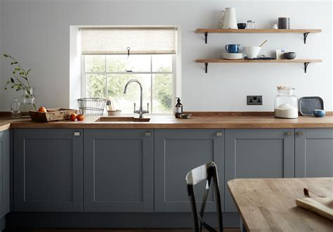 gray kitchen cabinet doors a dark grey shaker style kitchen cabinet door with a wood