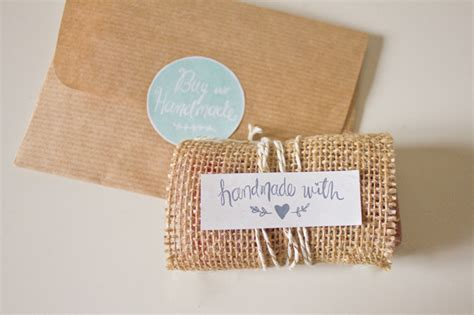 Handmade Gift Packing - free printable labels to kick up your packaging handmade