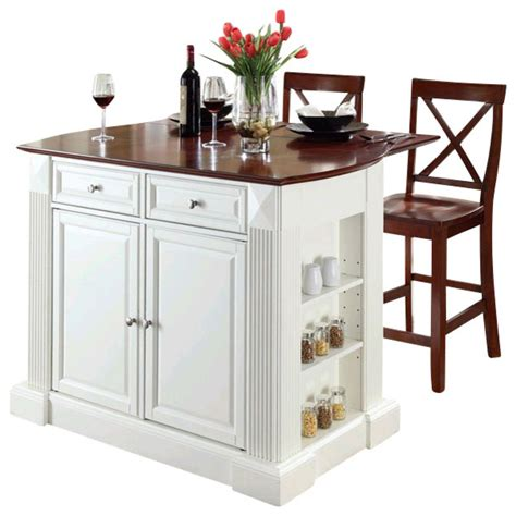 kitchen island cart with breakfast bar crosley coventry drop leaf breakfast bar kitchen island