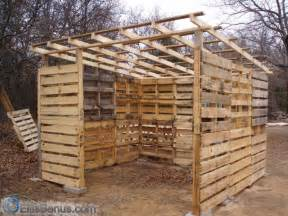 malleta build a shed using pallets