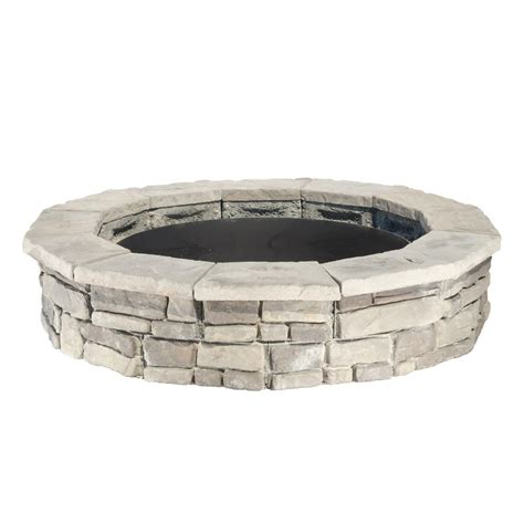 firepit kit 44 in random gray pit kit rsfpg the