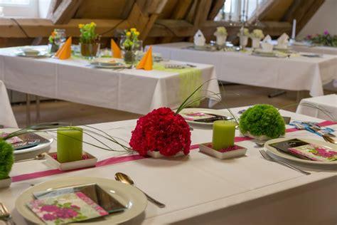 Festliche Tischdekoration Hochzeit by Blumen Kronm 252 Ller Feste Feiern