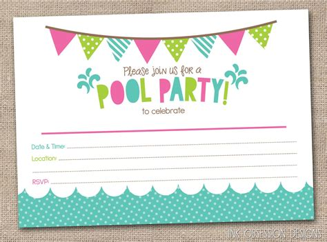 birthday invitation card template birthday invitation wording free