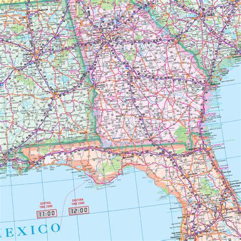 large usa wall map usa large scale wall map by kappa map
