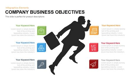 company business objectives powerpoint keynote slidebazaar