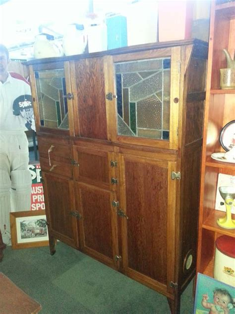 leadlight kitchen dresser geelong vintage