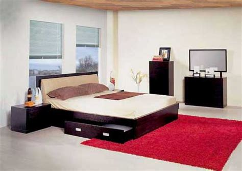 bedroom design red carpet awesome japanese style interior bedroom designs with black