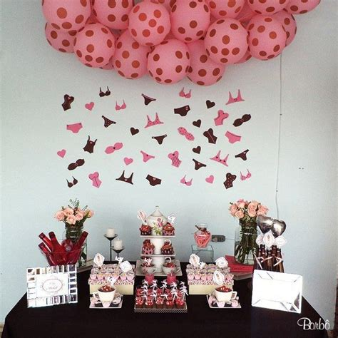pink and brown bridal shower decorations pink and brown bridal wedding shower ideas