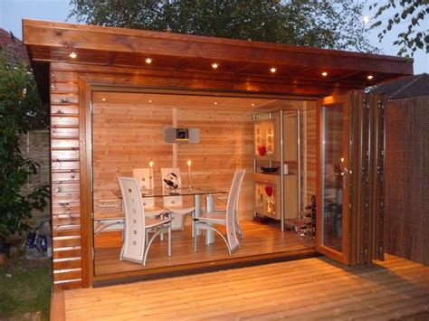 Best Colour Combination For Living Room by Bakers Timber Buildings Bi Fold Executive Summer House