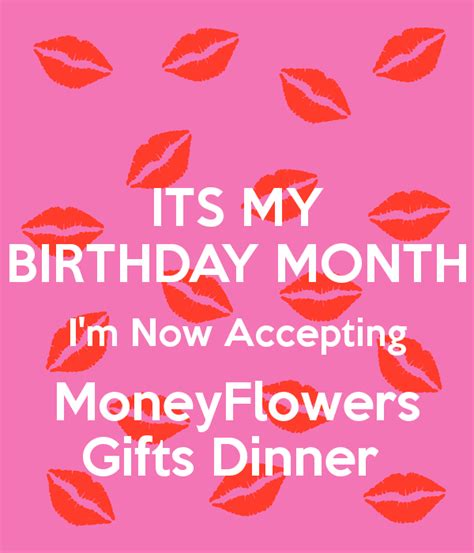 Birthday Month Quotes Accepting Birthday Quotes Quotesgram