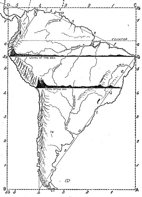 south america map dwg drawing of south america