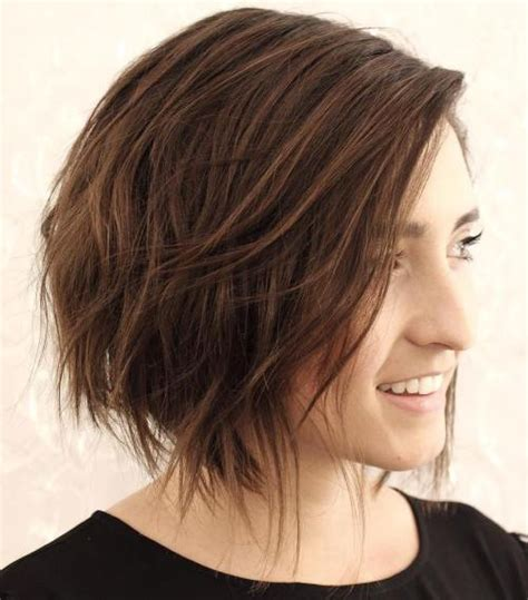 haircuts for wispy mousy brown 40 cute looks with short hairstyles for round faces