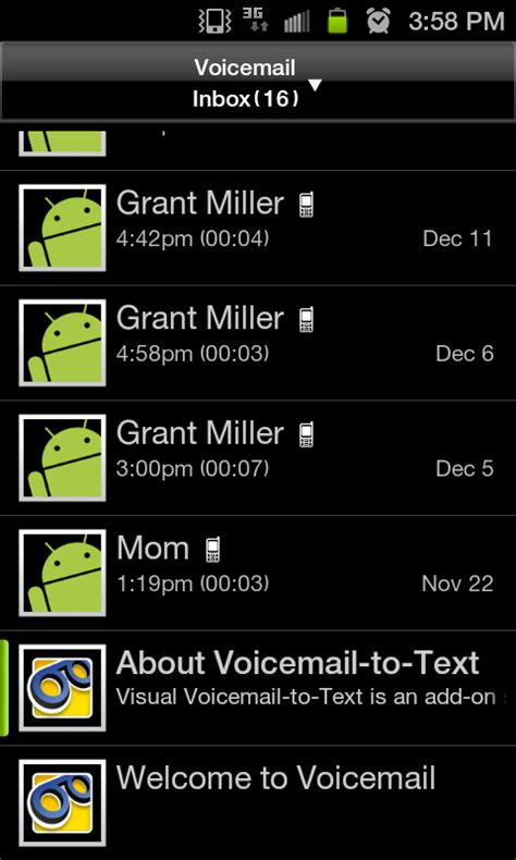 how to save voicemails on android free apk android apps voicemail vt 5 2 0 24 apk