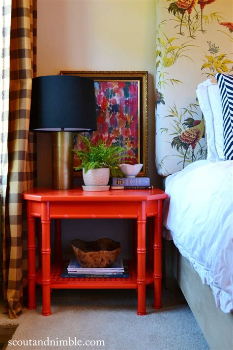 red table for bedroom lacquered furniture just got a whole lot easier