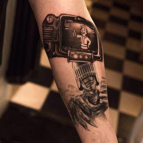 boy tattoos pipboy fallout 3 new vegas fallout 4 fallout