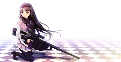wallpaper anime girl gun 23 december 2011 randomness thing