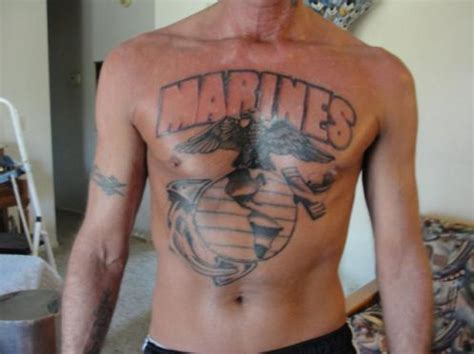 tattoos in the military marine corps tattoos