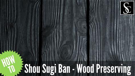 Burning Wood Siding To Preserve - shou sugi ban preserving wood with
