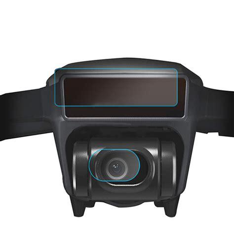 Dji Spark Lens Screen Fiberglass 4pcs hd fiberglass lens 3d sensor screen