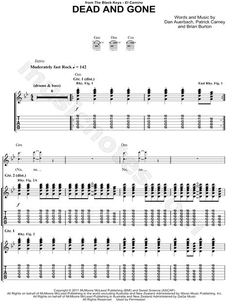 Gold On The Ceiling Guitar Tab by The Black Gold On Ceiling Tab Guitar Pro Integralbook
