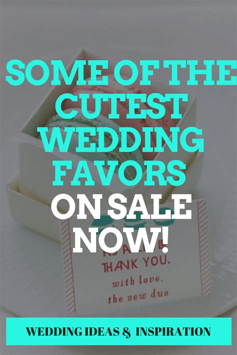 Wedding Favors Sale by Some Of The Cutest Wedding Favors On Sale Now