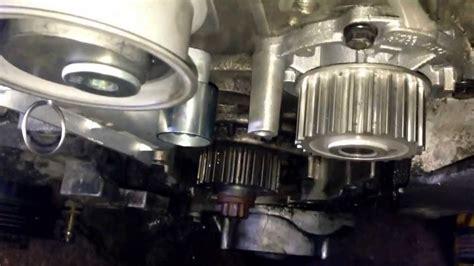 Audi Tt 8j Zahnriemenwechsel by Zahnriemen Wechsel Riemen Auflegen Beim Audi A4 A6 4b