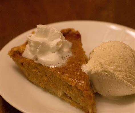 pumpkin pie from a real pumpkin not a can bigoven 701293