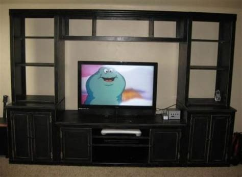 diy wall unit entertainment center wall side base units free and easy diy project and