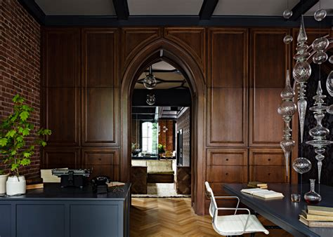 heritage home interiors gothic office by jessica helgerson interior design