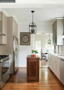 my notting hill narrow kitchen islands