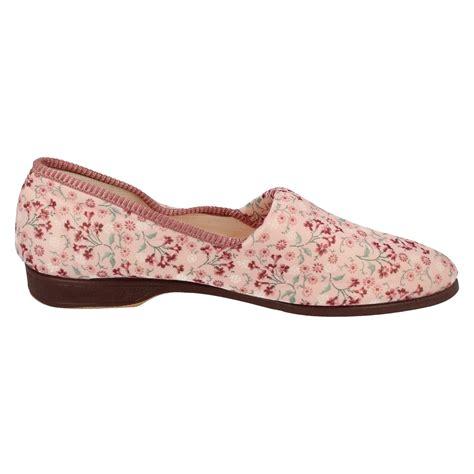 slipper nursery slip on slippers garden print ebay