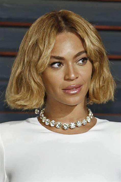 Beyonce Bob Hairstyle by Beyonc 233 Wavy Honey Bob Hairstyle Style